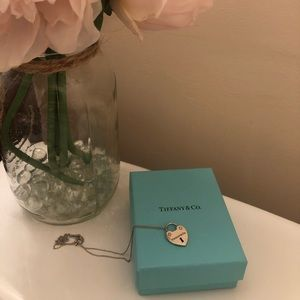 Tiffany & Co. Love Lock Heart Necklace